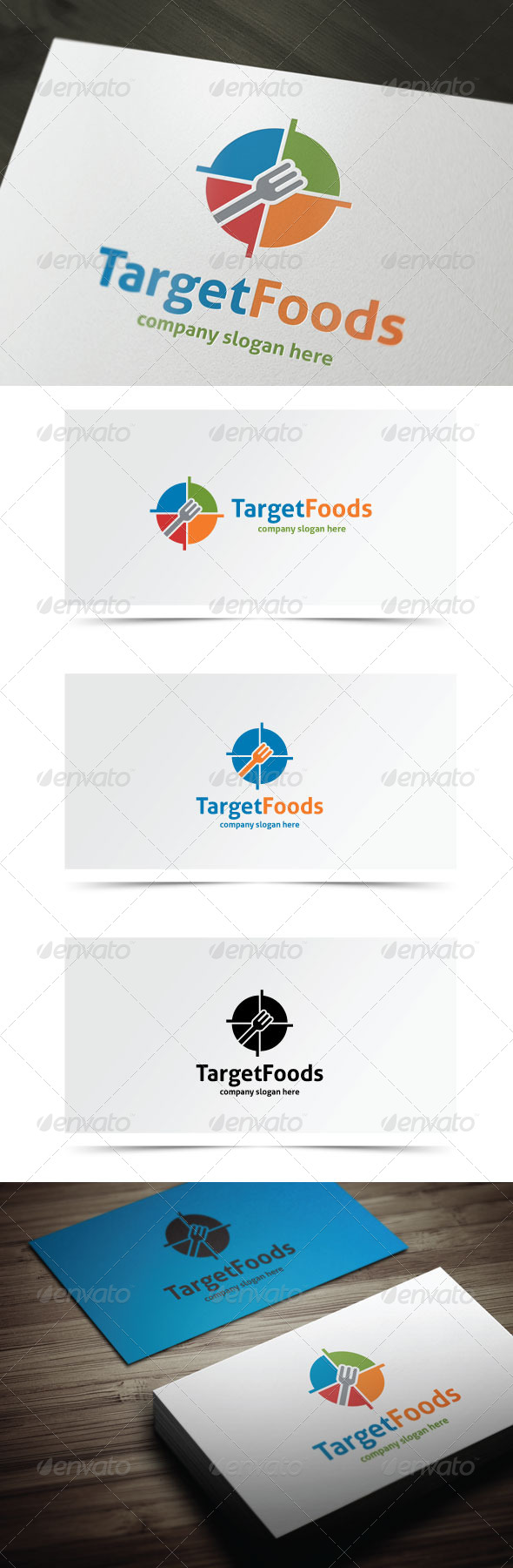 GraphicRiver Target Foods 7931898