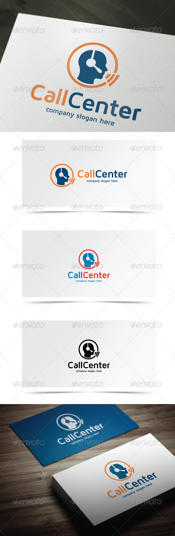 GraphicRiver Call Center 7932055