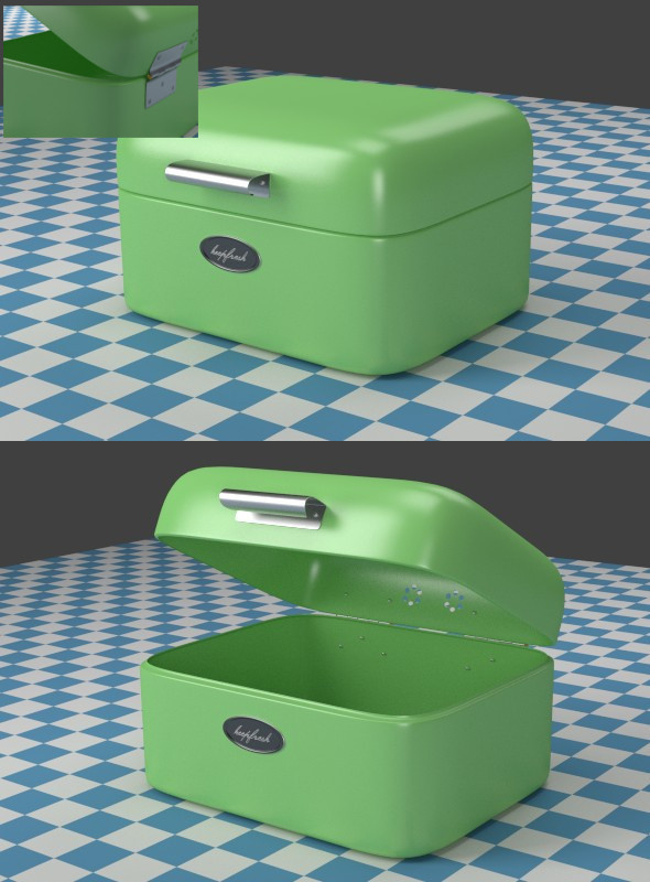 3DOcean A small green Breadbox 7934709