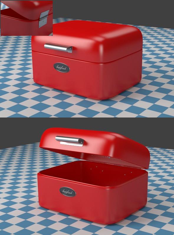 3DOcean A small red Breadbox 7935079