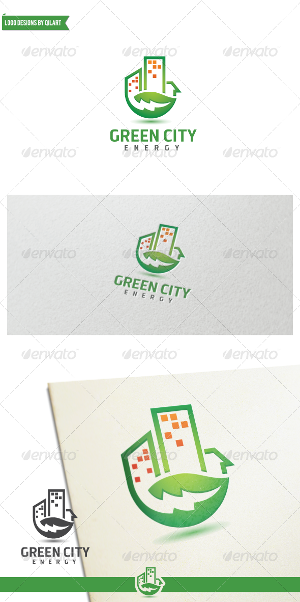 GraphicRiver Green City Energy 7931074