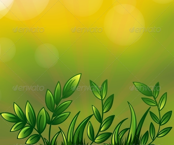 GraphicRiver Leafy Plants 7936462
