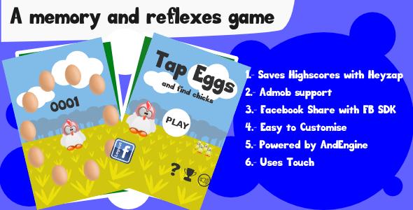 CodeCanyon Tap Eggs 7839668