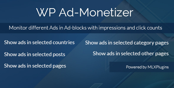 CodeCanyon WP Ad-Monetizer 7930106