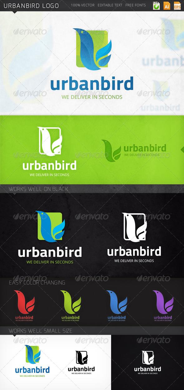 GraphicRiver Urbanbird Logo 7941694