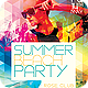 Summer Beach Party Flyer Template PSD - GraphicRiver Item for Sale