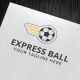 Express Ball Logo - GraphicRiver Item for Sale