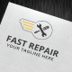 Fast Repair Logo Template - GraphicRiver Item for Sale