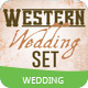 Western Wedding Style Set - GraphicRiver Item for Sale