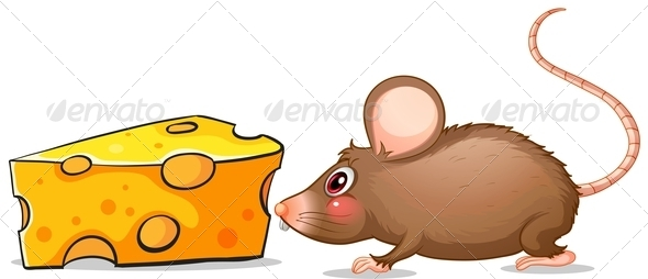 GraphicRiver Mouse and Cheese 7946174