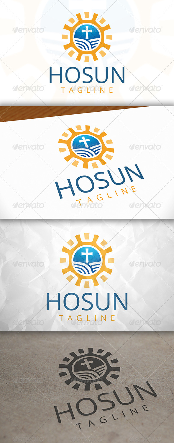 GraphicRiver Holy Light Logo 7946657