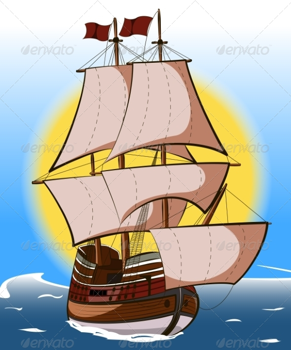 GraphicRiver Sailboat 7941730
