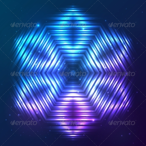 GraphicRiver Cosmic Shining Vector Abstract Star 7947953