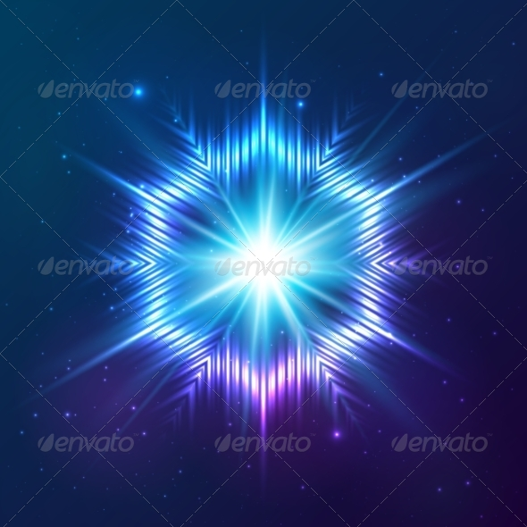 GraphicRiver Cosmic Shining Vector Abstract Star 7947959