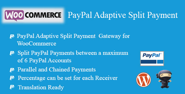 CodeCanyon WooCommerce PayPal Adaptive Split Payment 7948397