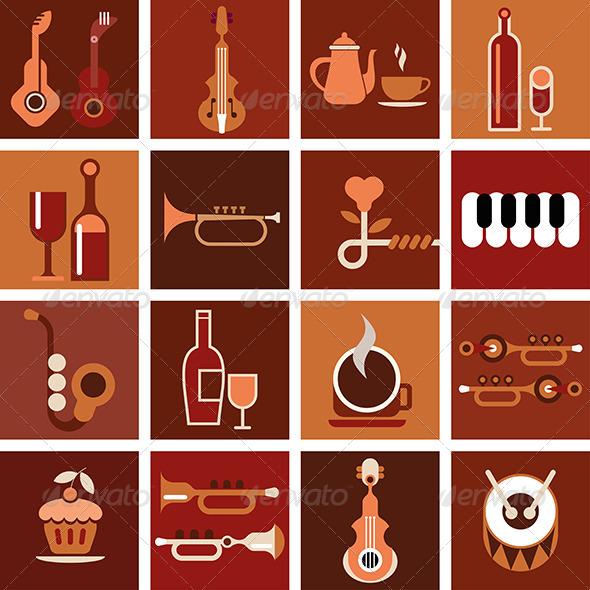 GraphicRiver Music Cafe 7949601