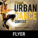 Urban Dance Contest Flyer Template - GraphicRiver Item for Sale
