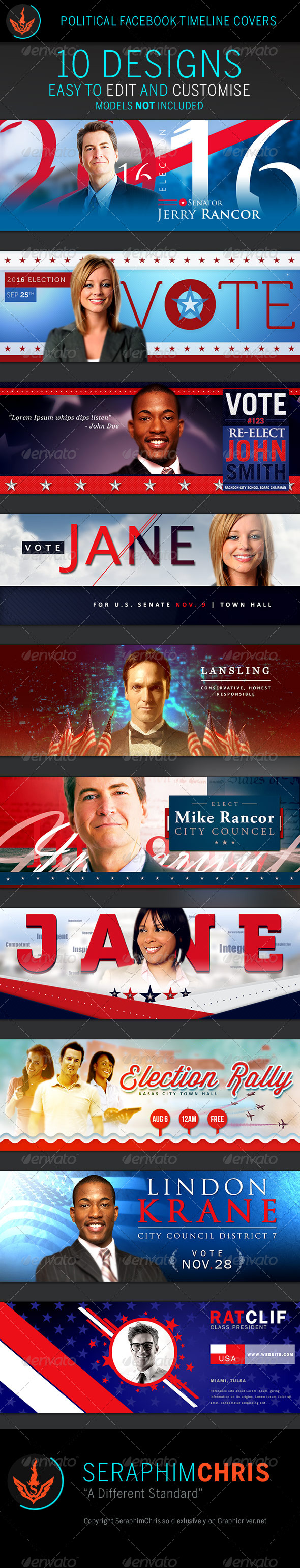 GraphicRiver Political Facebook Timeline Cover Templates 7950106