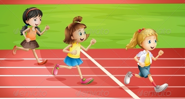 GraphicRiver Kids Jogging 7951008