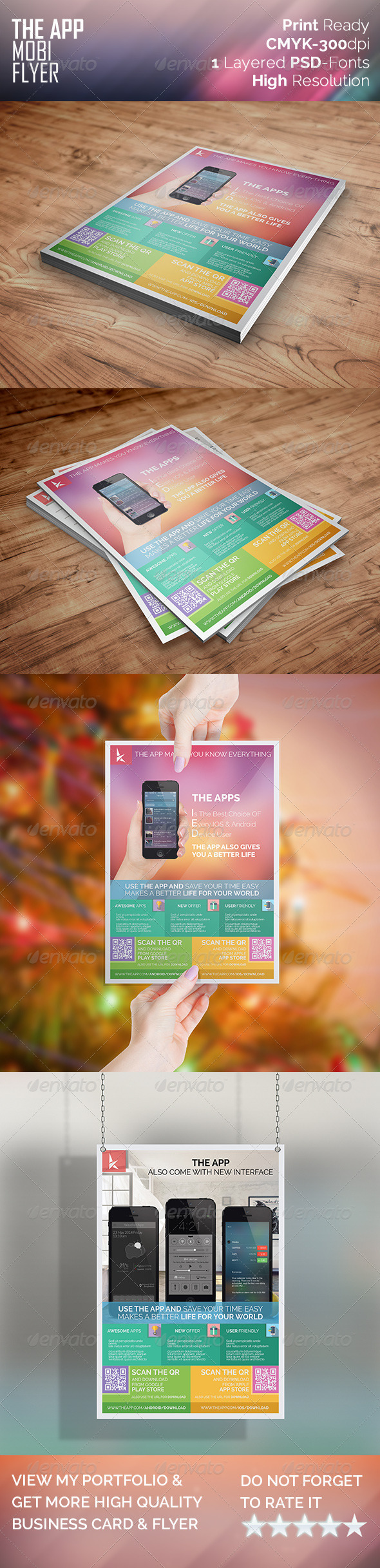GraphicRiver The Mobi App Flyer 7951025