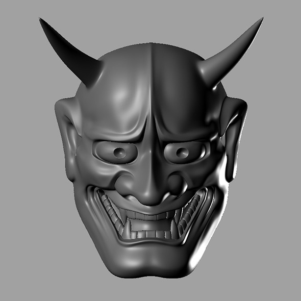 3DOcean Ogress Mask 7951355