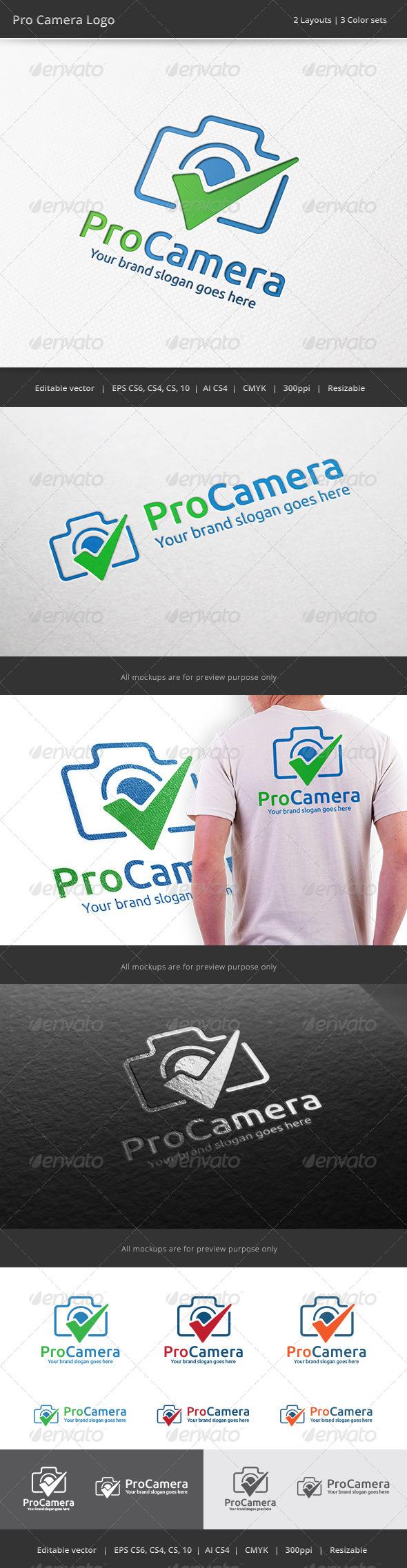 GraphicRiver Pro Camera Check Logo 7951742