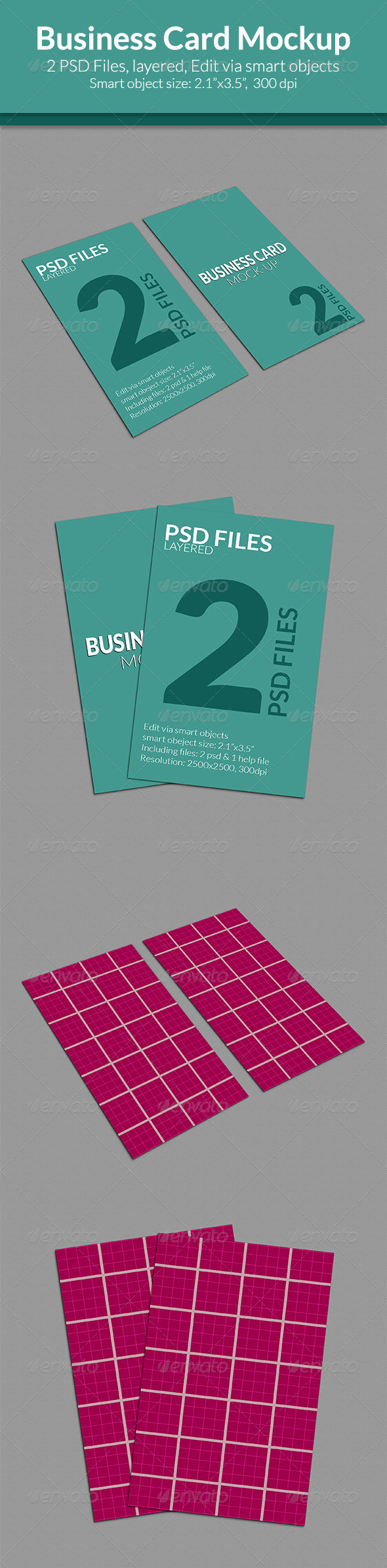 GraphicRiver Business Card Mock-up SS-5 7951944