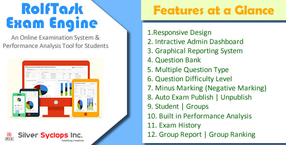 CodeCanyon Rolftask Online Examination System 7910152