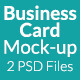 Business Card Mock-up SS-7 - GraphicRiver Item for Sale