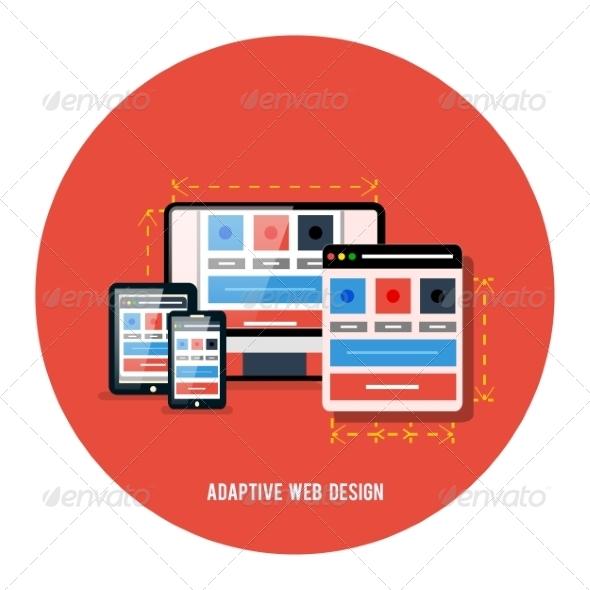 GraphicRiver Responsive Web Design Concept 7953669