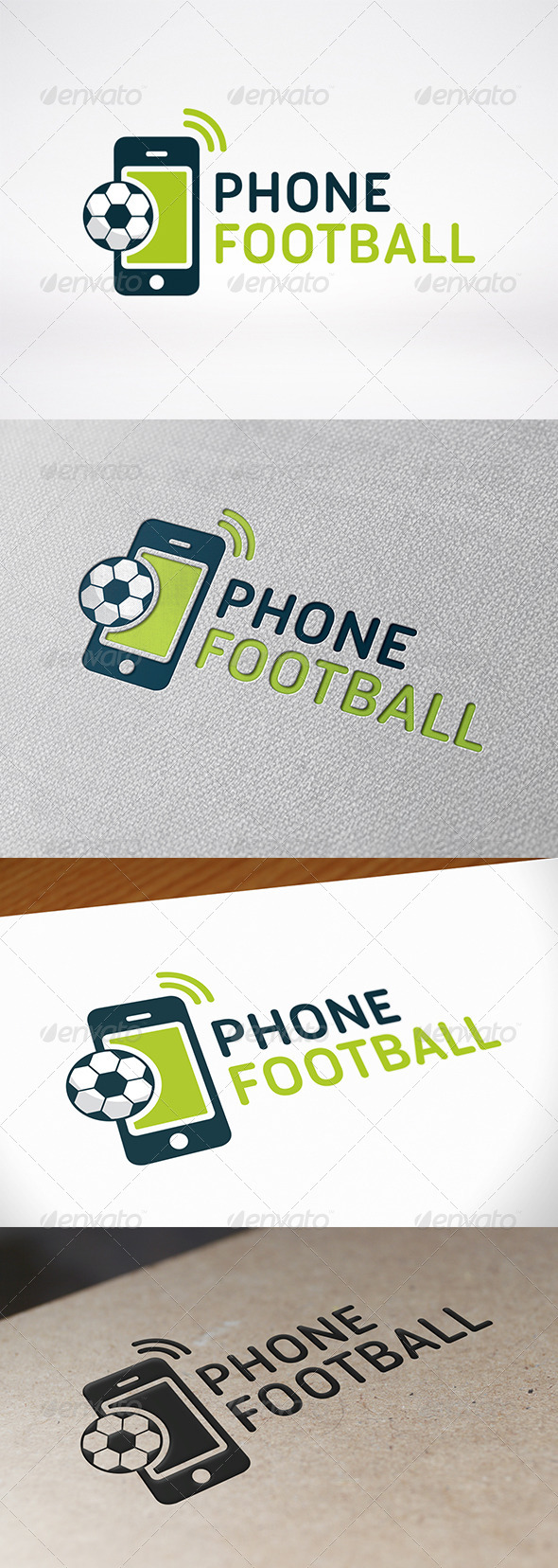 GraphicRiver Football Phone Logo Template 7954371