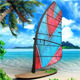 Realistic Windsurf Mock Up  - GraphicRiver Item for Sale