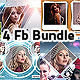 4 Facebook Timeline Cover Bundle V2