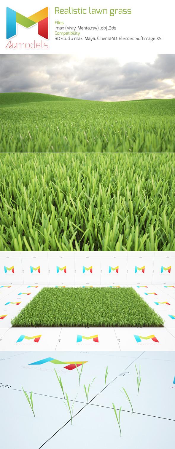 3DOcean Realistic Lawn 7955957