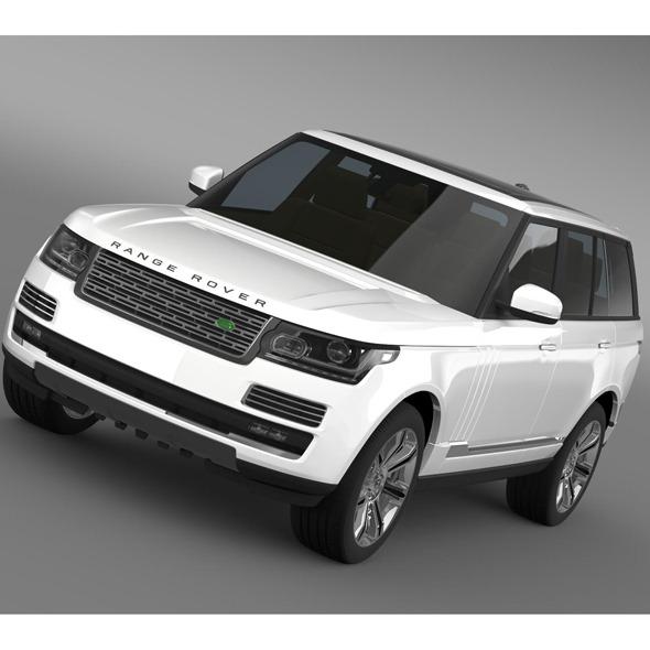3DOcean Range Rover Autobiography Black L405 2014 7956333