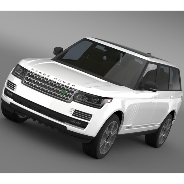 3DOcean Range Rover Hybrid LWB L405 7956531