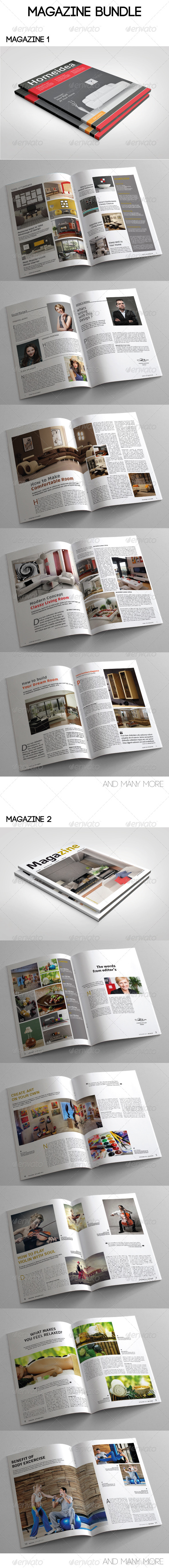 GraphicRiver Magazine Bundle Vol 03 7956748
