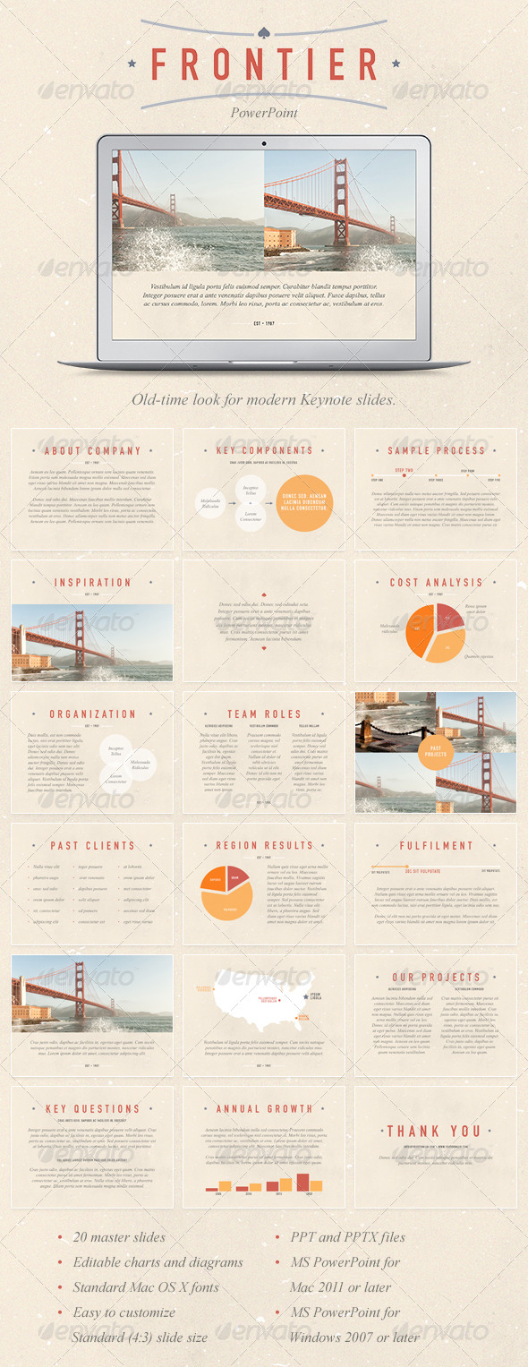 GraphicRiver Frontier PowerPoint Template 7960049