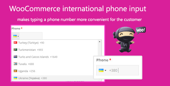 CodeCanyon WooCommerce international phone input 7960098