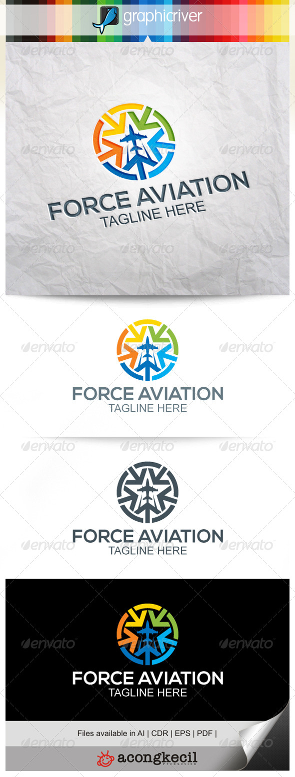 GraphicRiver Force Aviation V.3 7962532