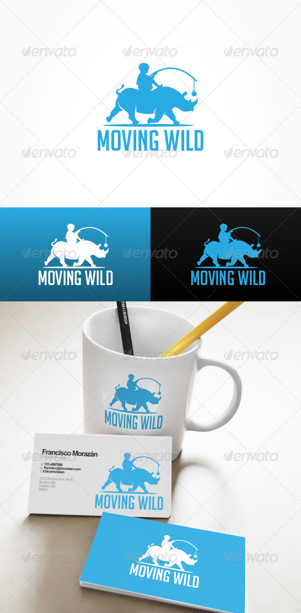 GraphicRiver Moving Wild Logo 7963162