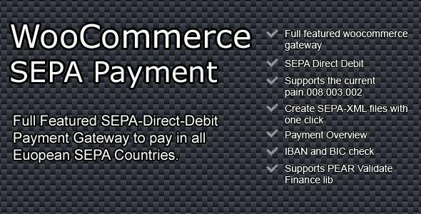 CodeCanyon WooCommerce SEPA Payment Gateway 7963419