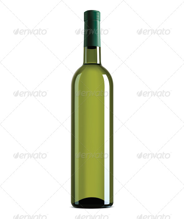 GraphicRiver Wine Bottle 7964689