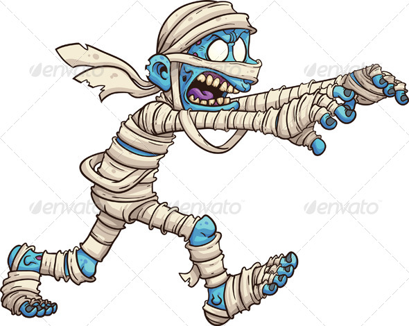 GraphicRiver Cartoon Mummy 7966521