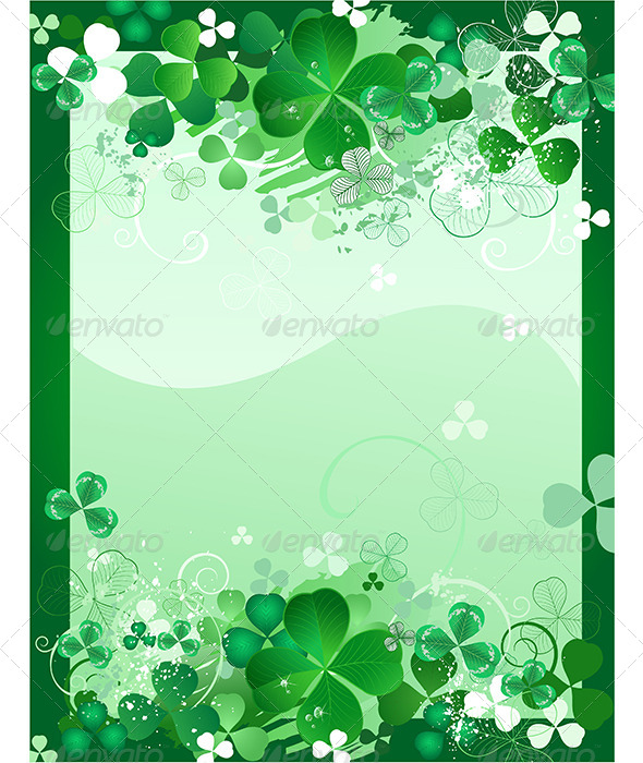 GraphicRiver Clover Background 7968582