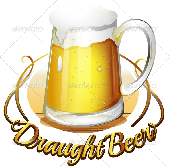 GraphicRiver Draught Beer Label 7968822