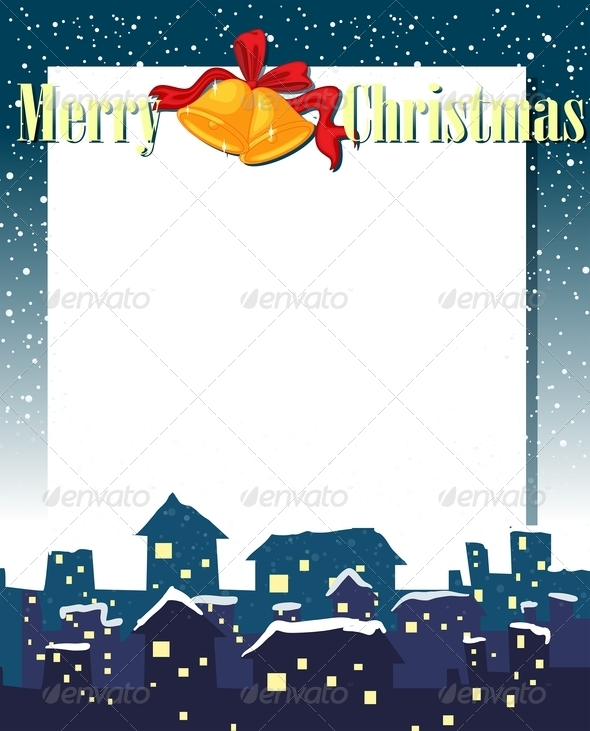 GraphicRiver Empty Christmas Card Template 7969136