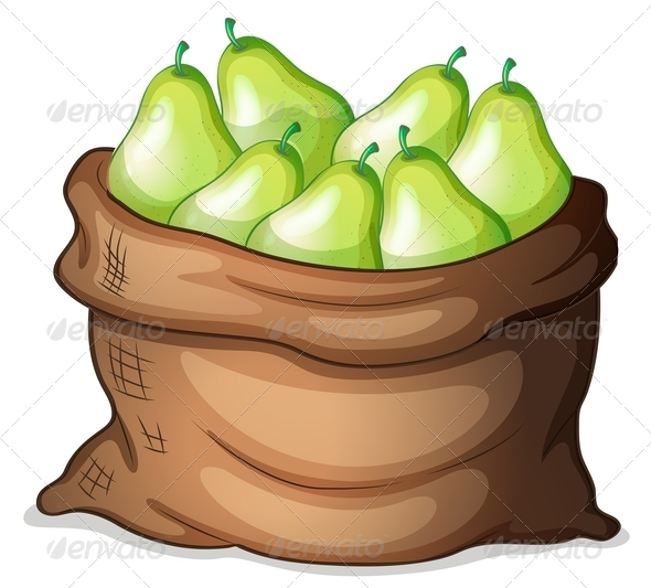 GraphicRiver Sack of Pears 7969353