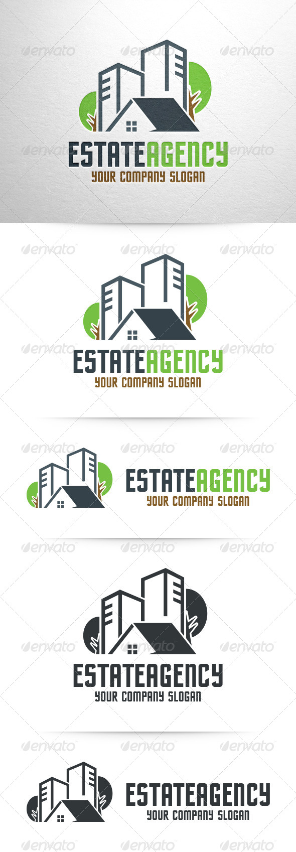 GraphicRiver Estate Agency Logo Template 7972604