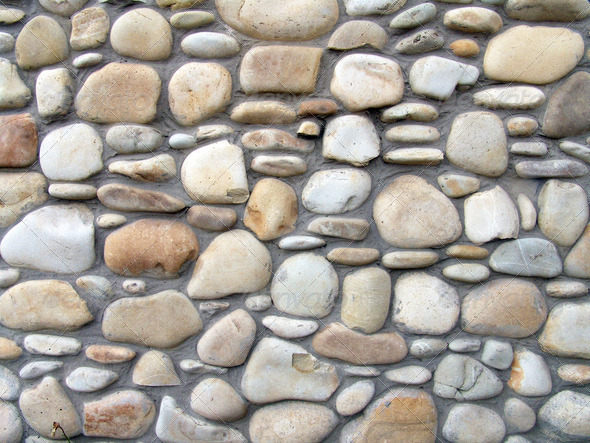 Stone wall2 - Stock Photo - Images